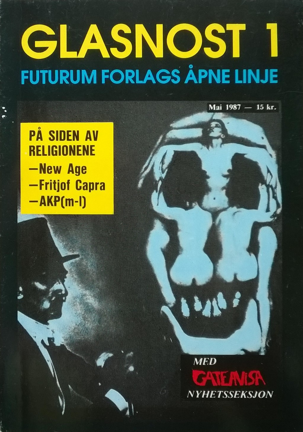 Axelsen, Jonny, Audun Engh, Thomas Hylland Eriksen, Richard Kristensen, Egil Stenseth (red.) Glasnost 1: Futurum Forlags åpne linje, mai 1987
