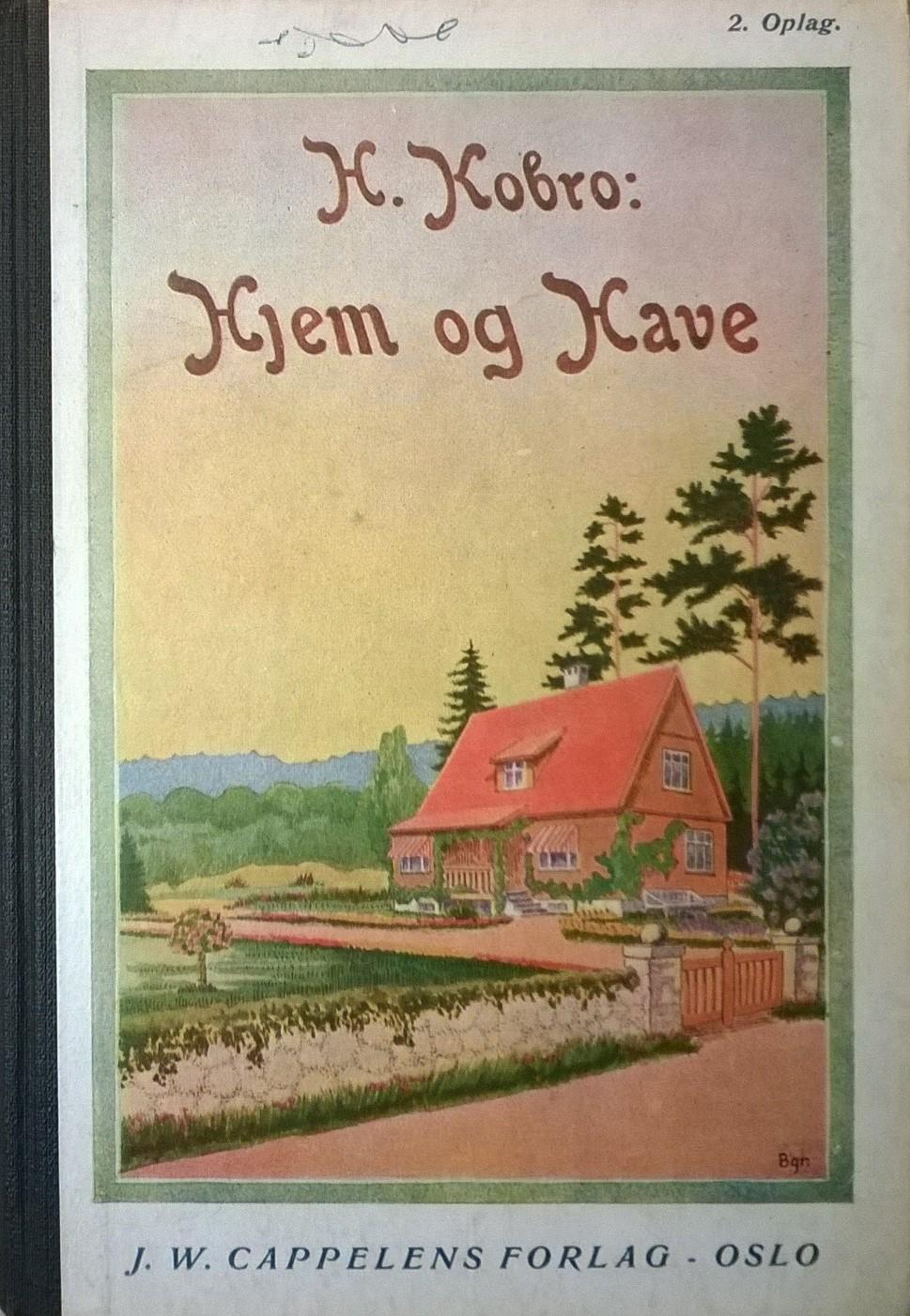Kobro, H. Hjem og have