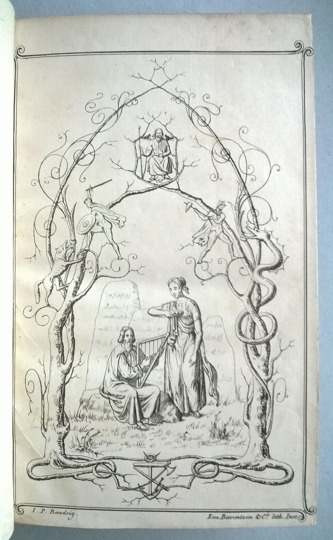 Barfod, Frederik (red.) Brage og Idun, et nordisk Fjærdingårsskrift, udgivet, med Bistand af Danske, Svenske og Normænd