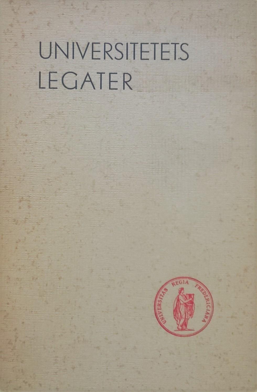 Hagen, Magne (red.) Universitetets legater